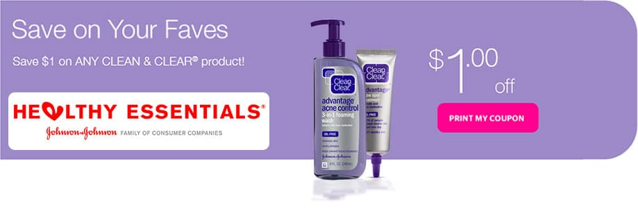 Special offers and coupons for CLEAN & CLEAR | CLEAN & CLEAR®