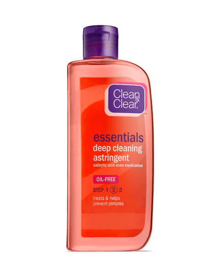 Deep Cleaning Astringent For Face With Salicylic Acid Clean Clear
