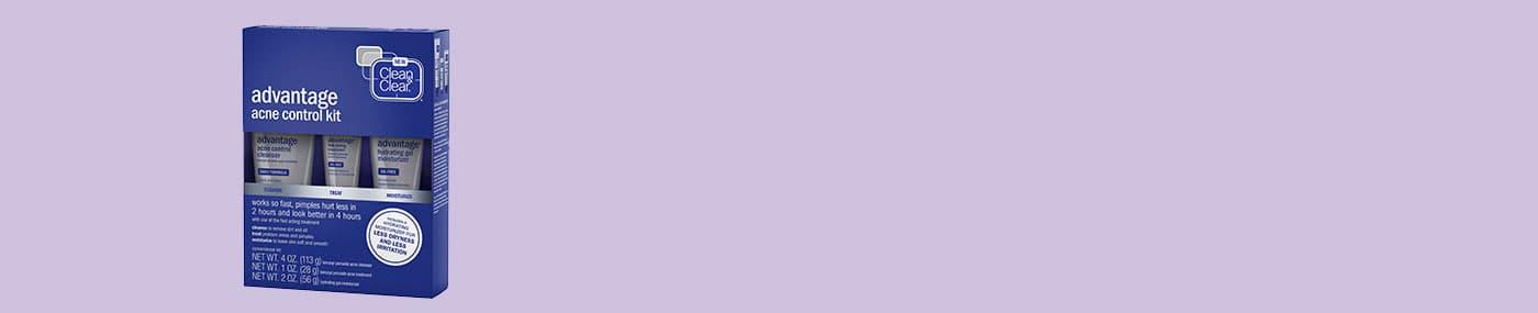 CLEAN & CLEAR ADVANTAGE® Acne Kit