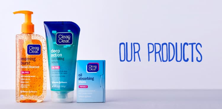 Clean and Clear Products - Facial Cleansers