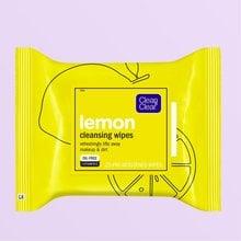 Lemon Facial Cleansing Wipes