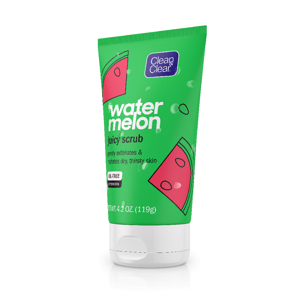 CLEAN & CLEAR® Watermelon Juicy Scrub
