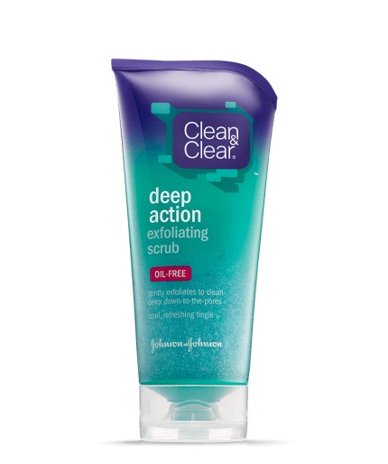 Clean and clear exfoliating