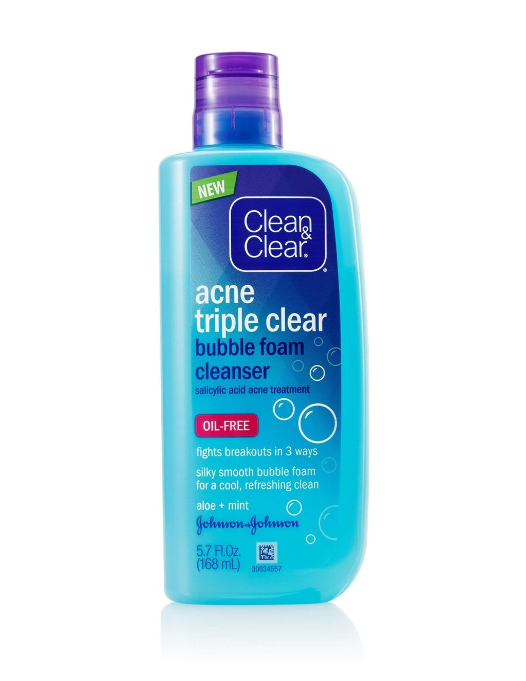 clean and clear acne triple clear cleanser review
