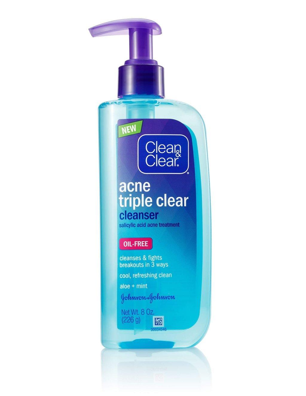 acne triple clear� cleanser clean amp clear174