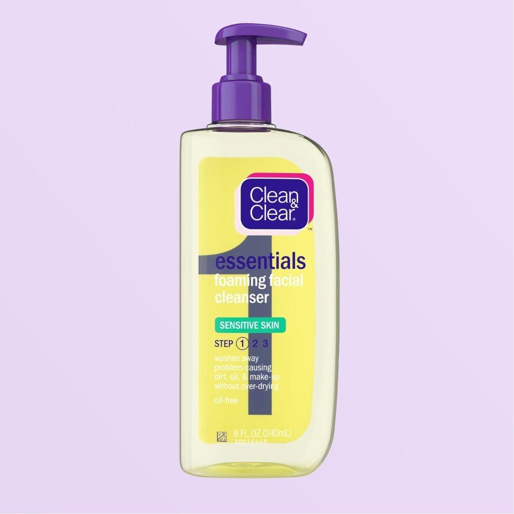 Essentials Foaming Cleanser For Sensitive Skin
