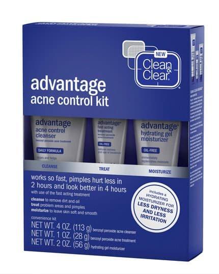 CLEAN & CLEAR® ADVANTAGE® ACNE CONTROL KIT