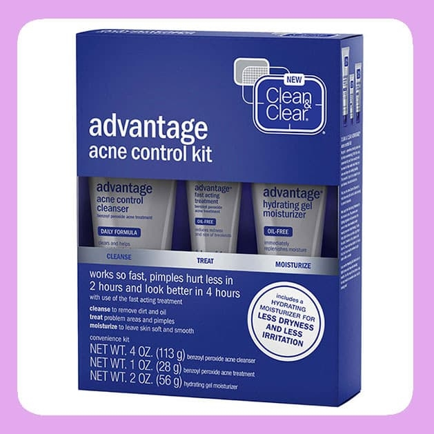 CLEAN & CLEAR ADVANTAGE® Acne Control Kit