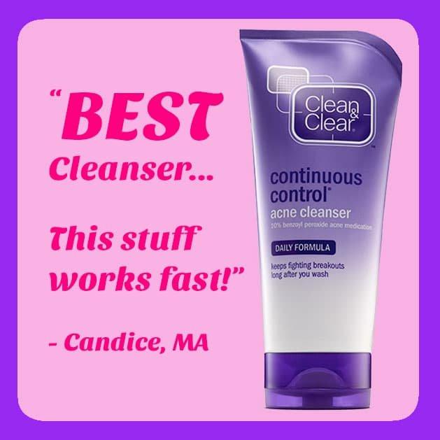 Continuous Control Acne Scrub
