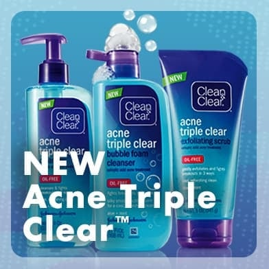 Fights acne in 3 ways for clearer, happier skin!