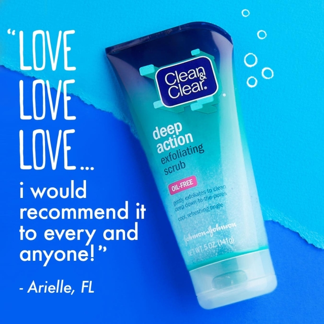 Clean and Clear Deep Action Exfoliating Scrub
